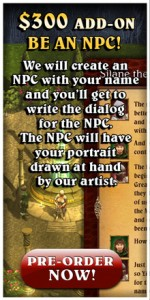 Be an NPC Lords of Xulima