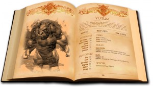 Bestiary Book Lords of Xulima