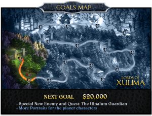 Lords of Xulima Goal Map