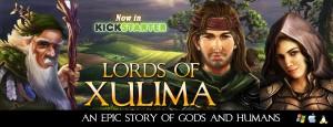 Lords of Xulima Kickstarter Header