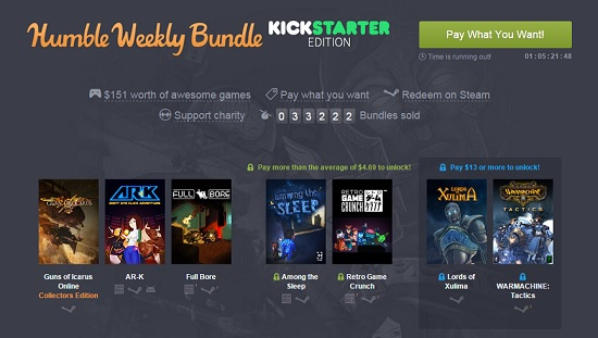 Kickstarter Humble Bundle Lords of Xulima