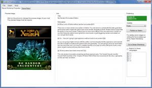 Lords of Xulima PC Mac Linux RPG Editor Mod Screenshot