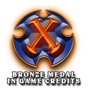 Lords of Xulima PC Mac Linux RPG Bronze Medal Logo