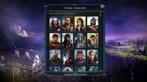 Lords of Xulima PC Mac Linux RPG Character Creation
