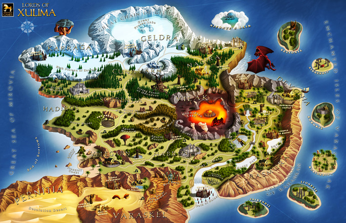 The lost continent of xulima world map numantian games lords of xulima map gumiabroncs Choice Image