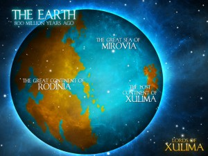 Lords of Xulima World Map The Earth