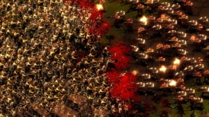 they are billions zombie steampunk RTS by Numantian Games - zombie swarms